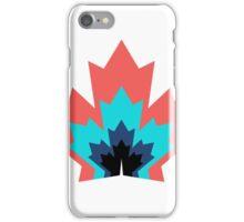 Canada Leaf Multicoloured Pattern  iPhone Case/Skin