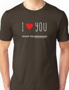 I love You (custom requests avalaible for the wording - private message) Unisex T-Shirt