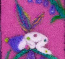 Fairy Baby - Harris Tweed Fairy Sticker