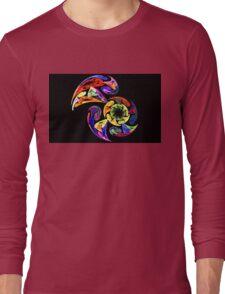 Spiral Toucan Long Sleeve T-Shirt