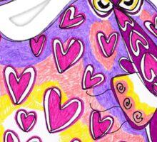 Be my valentine! Sticker