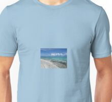 Beach without sand. Unisex T-Shirt