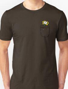 FLOWEY the FLOWER- pocket! Unisex T-Shirt