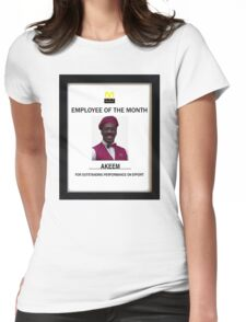 Employee of the month Womens Fitted T-Shirt