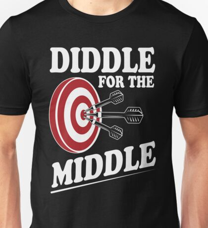 Diddle for the middle Unisex T-Shirt