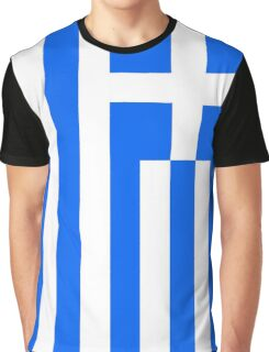 Greece Flag Graphic T-Shirt