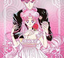 Princess Serenity e Prince Endymion  by Rickykun