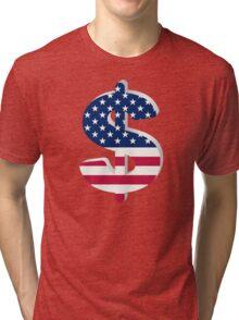 Dollar sign  Tri-blend T-Shirt
