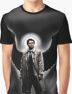 Castiel Wing Graphic Graphic T-Shirt
