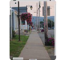 Small Town Street iPad Case/Skin