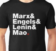Marx&Engels&Lenin&Mao. Unisex T-Shirt