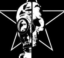 Gasmask/Skull Sticker