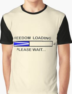 FREEDOM LOADING 45% Graphic T-Shirt