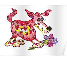 Be my valentine? Poster