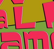 We Talk Games Angular Retro Sticker