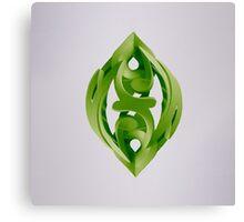 Leaf Sculpture Canvas Print