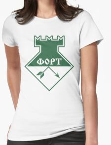 FORT Technologia (green) Womens Fitted T-Shirt