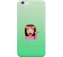Sassy Woman Emoji  iPhone Case/Skin
