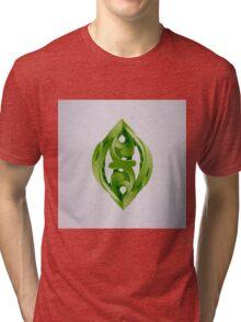 Leaf Sculpture Tri-blend T-Shirt