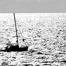 Boat silhouette - Tenerife by evilcat