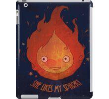 She Likes My Spark! iPad Case/Skin