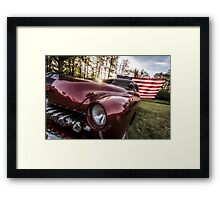 At the twilight's last gleaming. Framed Print