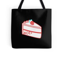 Strawberry Asexual Cake Tote Bag