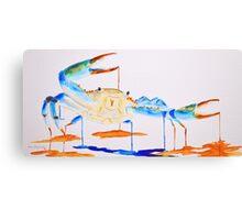 Blue Crab 1 Canvas Print
