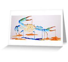 Blue Crab 1 Greeting Card