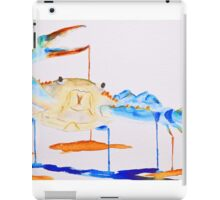 Blue Crab 1 iPad Case/Skin