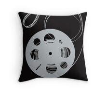 Frank Capra Film Reel Throw Pillow