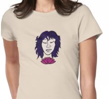 Lotus Girl Womens Fitted T-Shirt