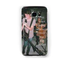 Tigers Jaw lyrics #6 Samsung Galaxy Case/Skin