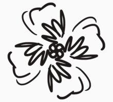 Vector Flower Kids Tee