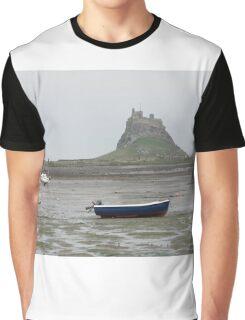 Lindisfarne Castle Graphic T-Shirt