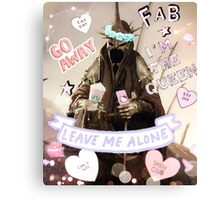 Witch King of Starbucks (Angmar) Pastel Ver. Canvas Print