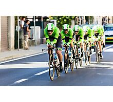 Belkin Pro Cycling Team Photographic Print