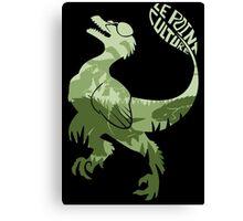 Point Culture : Dinosaures Canvas Print