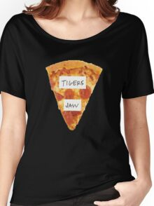 Tigers Jaw Pizza Logo Women's Relaxed Fit T-Shirt