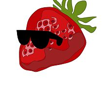 Strawberry wearing Shades by TheoSterling