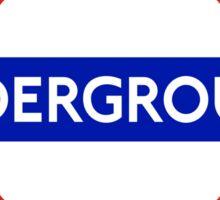 London underground sign Sticker