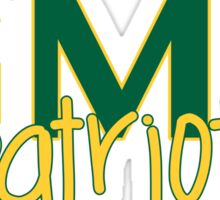 George Mason University Sticker