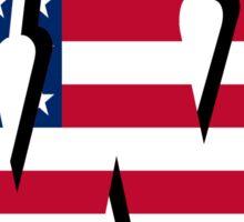 University of Wisconsin America Sticker