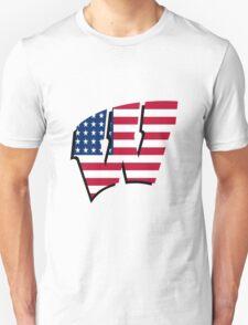 University of Wisconsin America Unisex T-Shirt