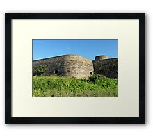 fortification wall Framed Print