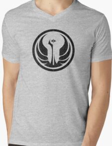 Old Republic (distressed) Mens V-Neck T-Shirt