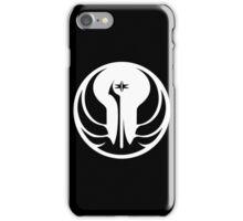 Old Republic (white) iPhone Case/Skin