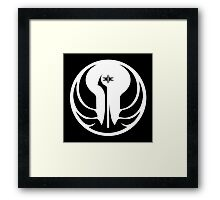Old Republic (white) Framed Print
