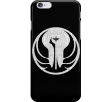 Old Republic (white, distressed) iPhone Case/Skin