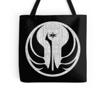 Old Republic (white, distressed) Tote Bag